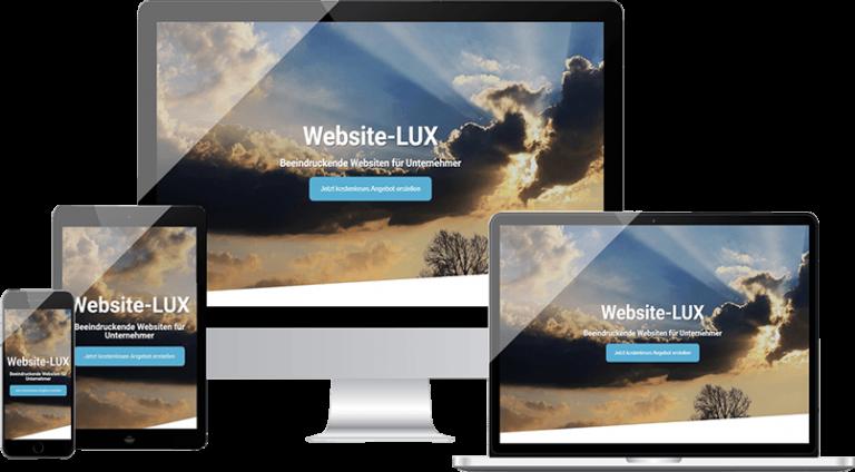 responsive design webdesign webdesign agentur website lux